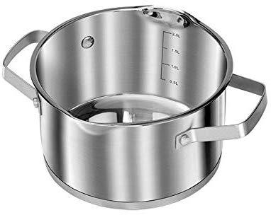 Smile MGK11 - Batería de Cocina Inducción 10 piezas Acero Inoxidable