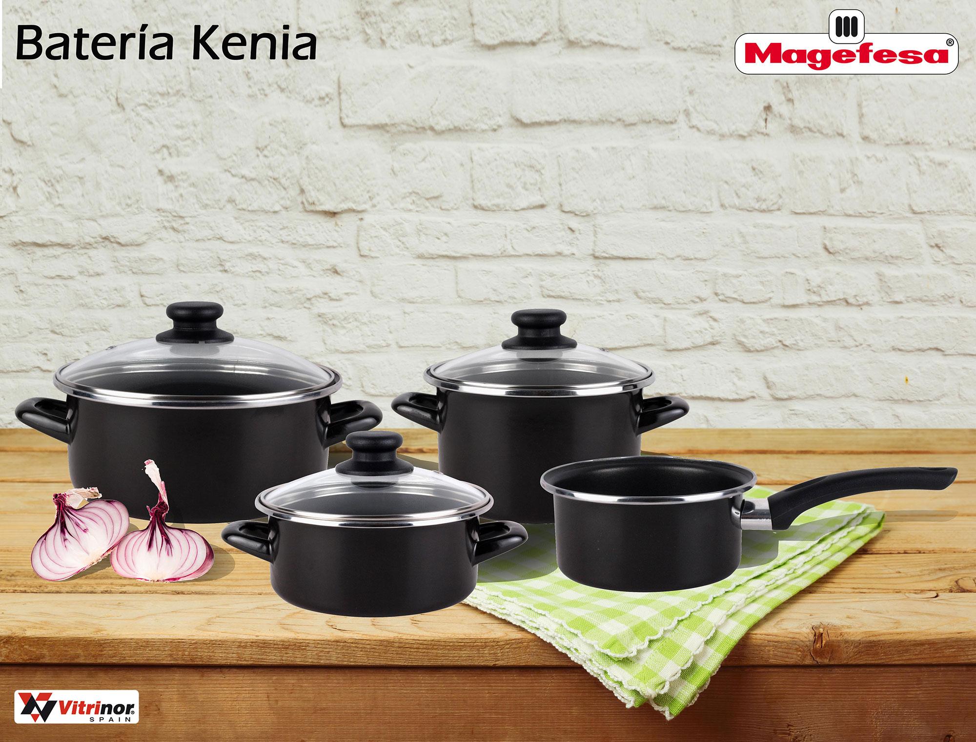 Bateria Cocina Magefesa | Bateria De Cocina Antiadherente Magefesa Kenia 7 Piezas Compra