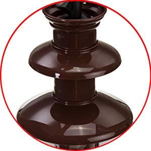 Camry CR4457 Fuente de Chocolate eléctrica, cascada de 3 niveles