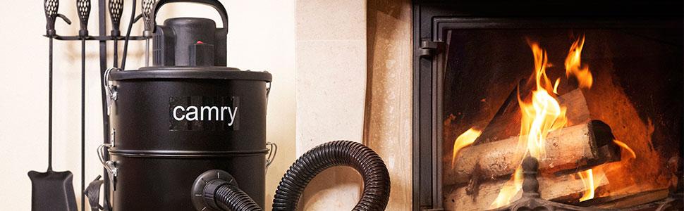 Camry CR7030 - Aspiradora de Cenizas 25 litros, filtro HEPA