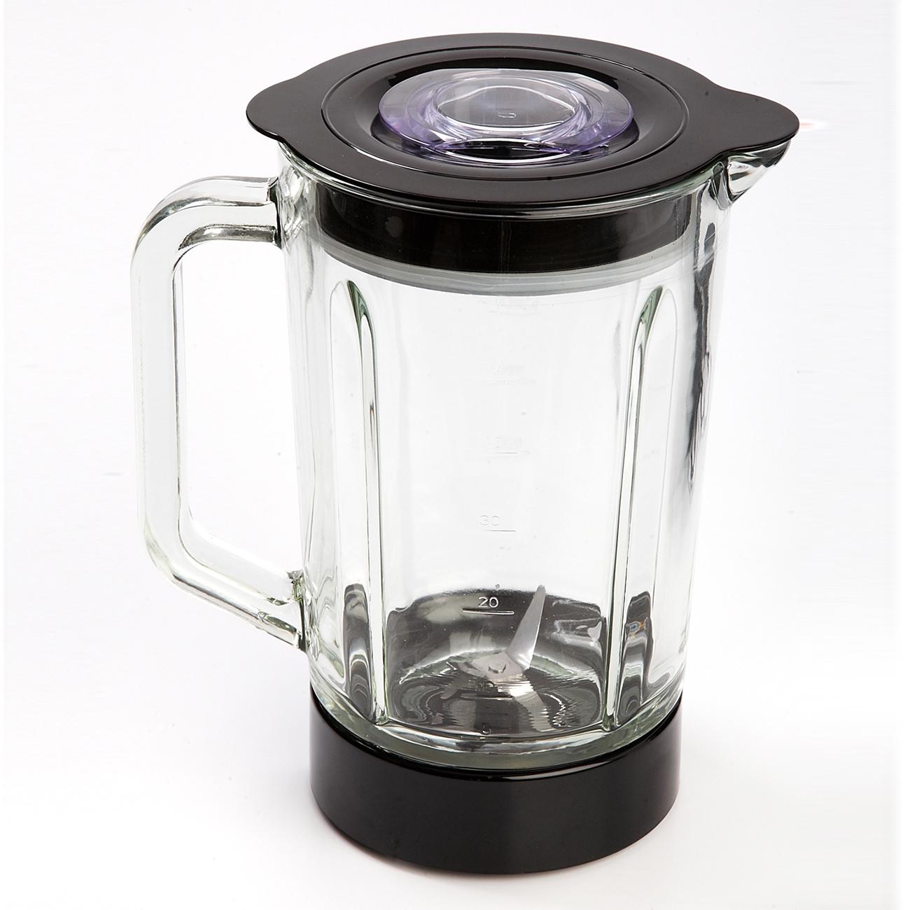 Camry CR 4050 Batidora Americana de Vaso cristal 1,5 litros, 2 velocidades, cuchillas acero inoxidable, 500W