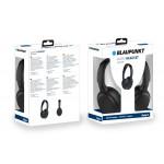 Blaupunkt BLP4510 Auriculares Bluetooth Inalambricos de Diadema con micrófono, Cancelación de Ruidos, 8 Horas de Autonomía, Negro
