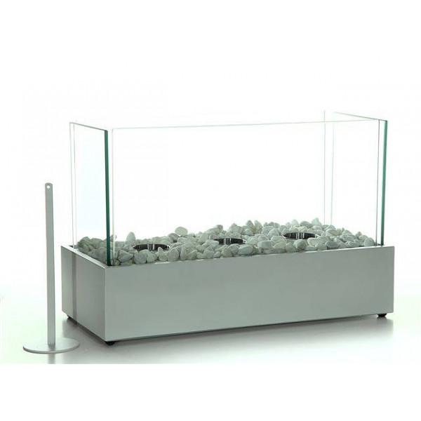 Biochimenea decorativa Stone white 45x21