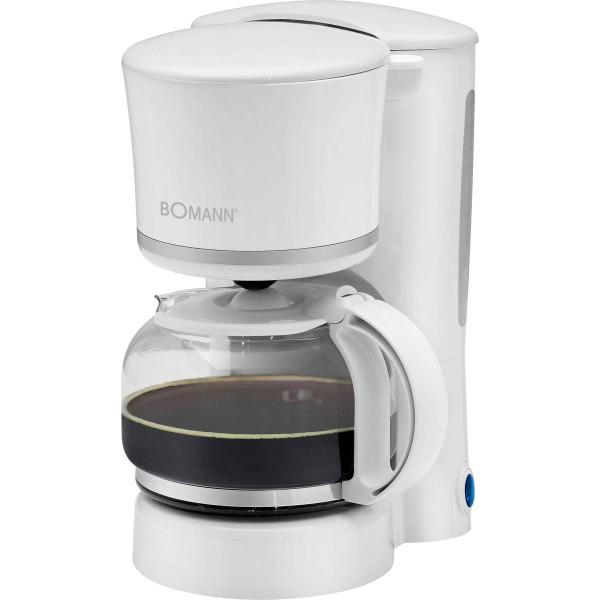 Bomann Cafetera 8-10 tazas KA1575 blanca