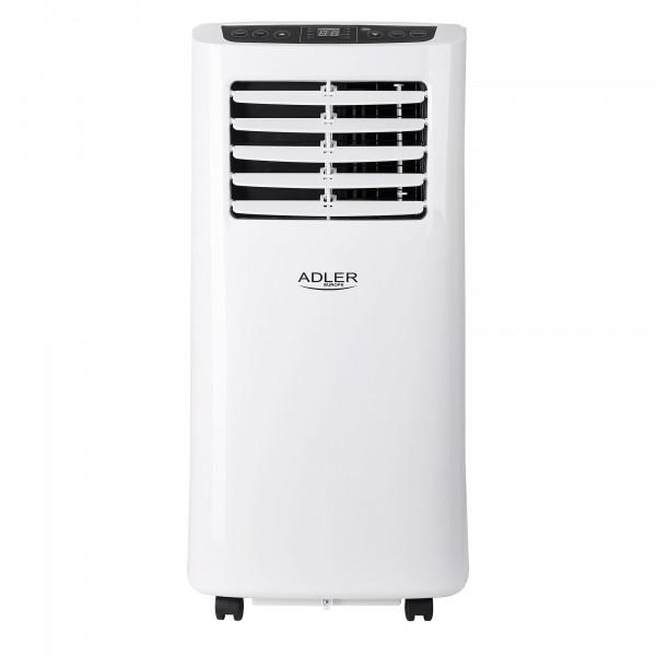 Adler AD7909 Aire Acondicionado Portátil, Control Remoto, Temporizador, Control de temperatura, Pantalla LED, Oscilante, 2000W