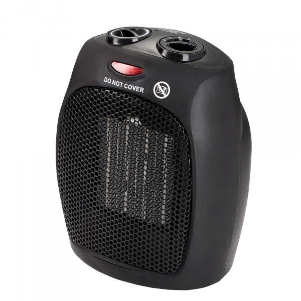 Adler AD7702 Calefactor Cerámico portátil PTC, 2 niveles potencia, termostato, protección sobrecalentamiento, 1500W
