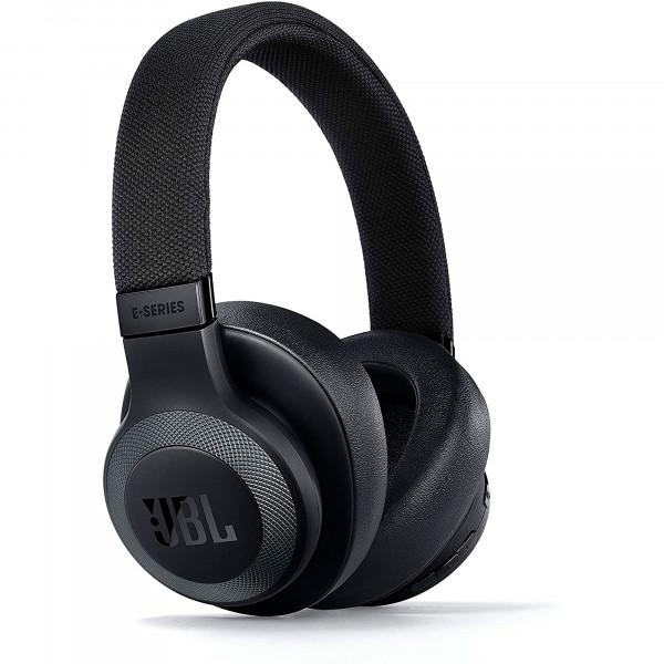 JBL E65 Auriculares Bluetooth Inalámbricos de Diadema con Micrófono, Cancelación de Ruidos, 15 horas de Autonomía, Sonido de Alta Calidad, Negro