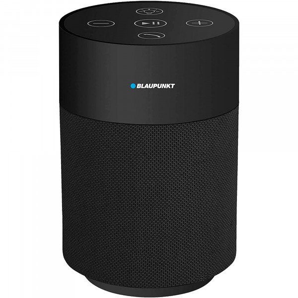 Blaupunkt BLP3830N Altavoz Bluetooth Portátil, Luz Led, Táctil, Micro SD, AUX, Potencia Sonido 5W, Negro