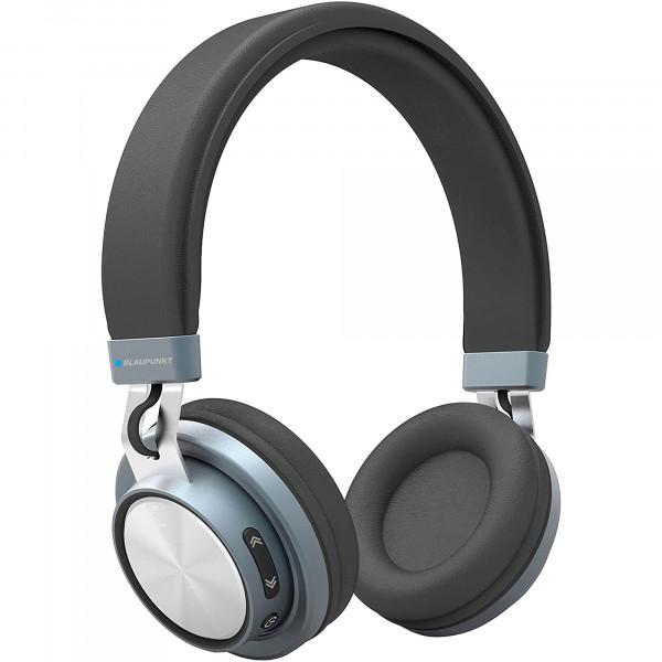 Blaupunkt BLP4100 Auriculares de Diadema, Bluetooth, Inalámbricos, Manos Libres, 6h de Autonomía, Sonido de Alta Calidad, Negro