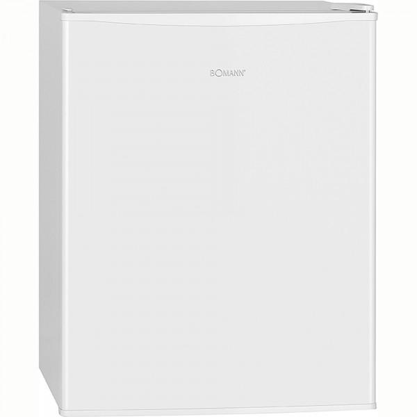Bomann KB 7235 Nevera Portátil 58 Litros, Mini Frigorífico, Temperatura Regulable 0 ° C ~ + 8 ° C, Puerta Reversible, Silenciosa, 60W, Blanca