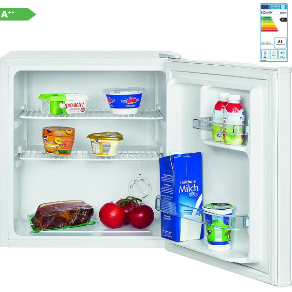 Bomann KB 340 - Mini bar nevera independiente capacidad 42 litros, A++ , color blanco