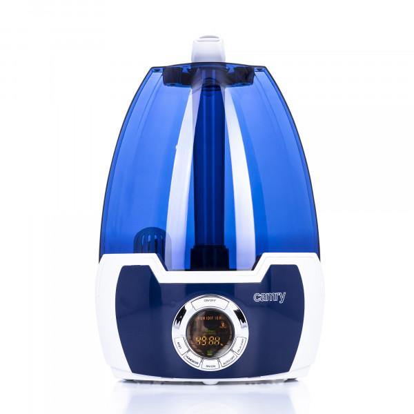 CAMRY CR7956 Humidificador Ionización de Aire , 330 mlh, Grande, 5,8 Litros, Filtro de Cerámica, 30 m², Ajuste de humedad, Temporizador, Programable