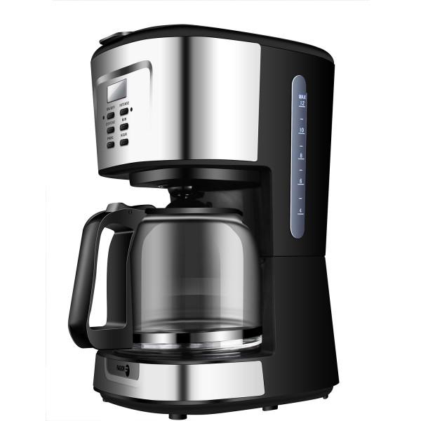 Fagor FG784 Cafetera programable eléctrica de Goteo automática, máquina café de Filtro Capacidad 12 a 14 Tazas, 1,5 litros, Display Digital Hora 24h/Temporizador, 900 W