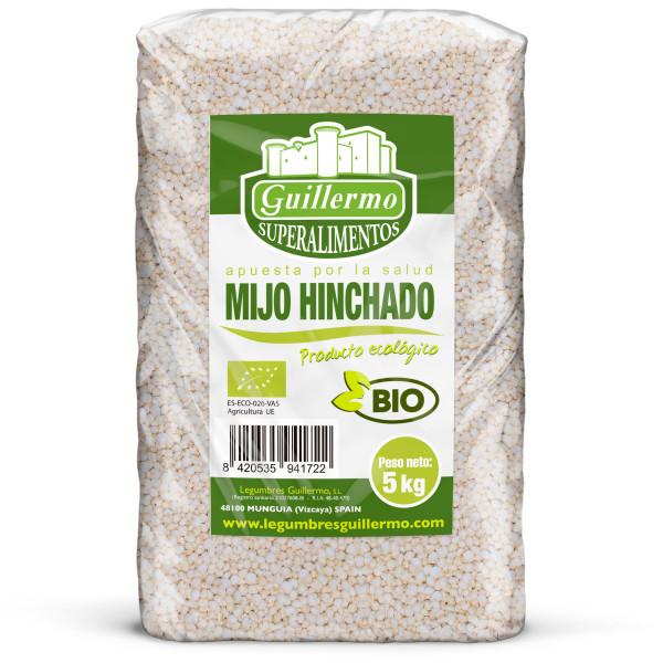 Guillermo Horeca Mijo Hinchado Ecológico BIO Granel 5kg