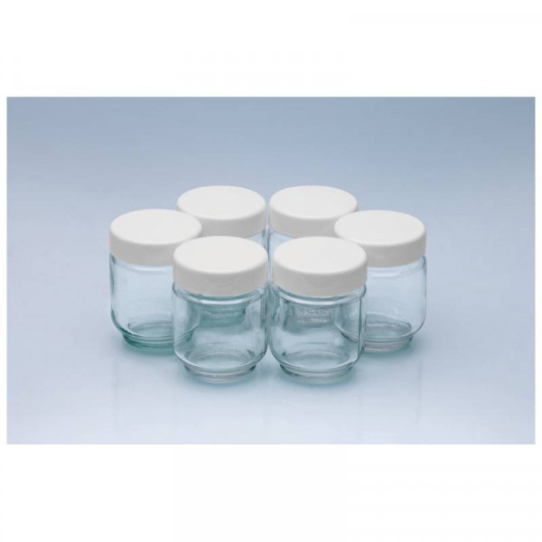 Clatronic Pack 6 vasos Yogurtera JM 3344