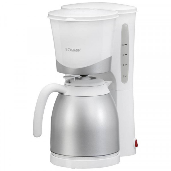 Bomann Cafetera con Termo KA 168 Blanca