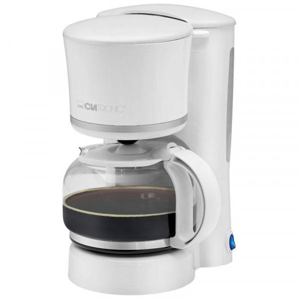 Clatronic Cafetera 8-10 Tazas KA 3555 Blanca