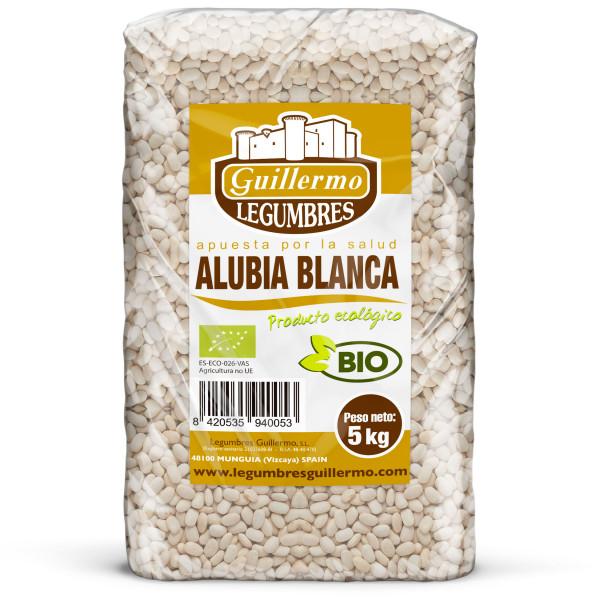 Guillermo Horeca Alubia Blanca Judía Ecológica BIO Granel Calidad Extra 5kg
