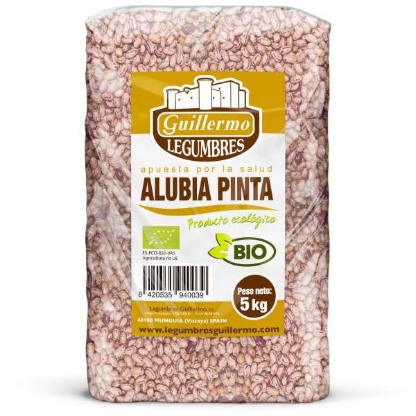 Guillermo Horeca Alubia Pinta Ecológica BIO Granel Calidad Extra 5kg