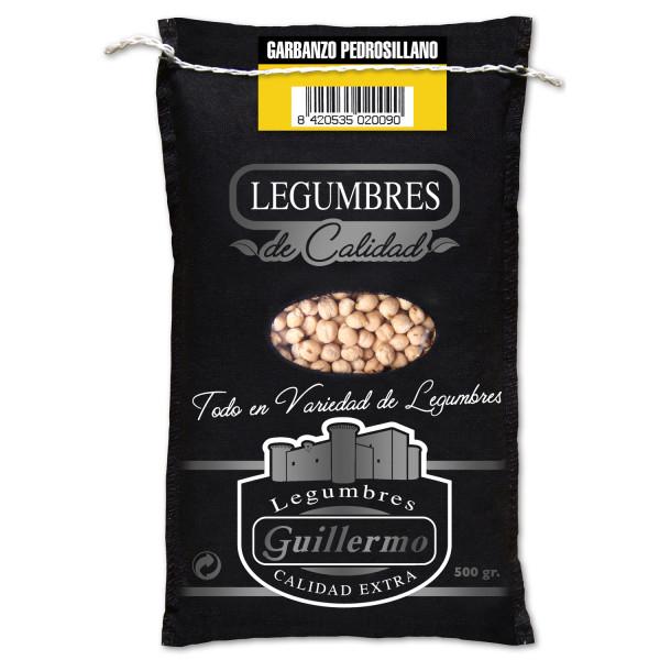 Guillermo Garbanzo Pedrosillano Gourmet Calidad Extra Saco 500gr