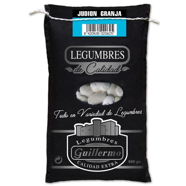 Guillermo Judión de la Granja Alubia Gigante Gourmet Calidad Extra Saco 500gr