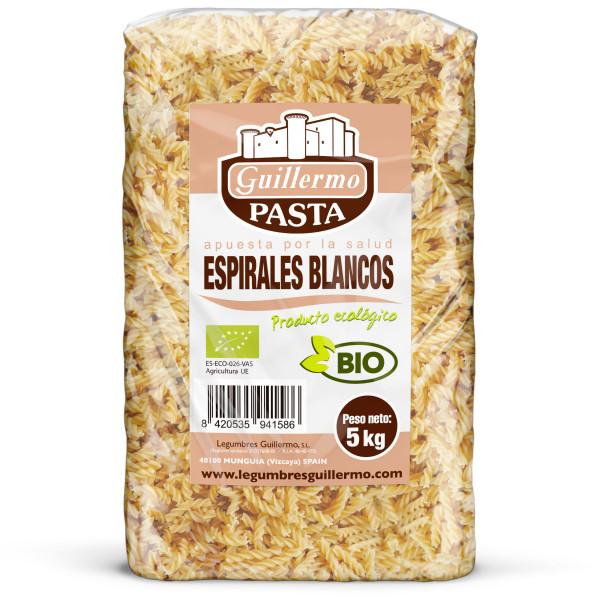 Guillermo Horeca Espirales Blancos Ecológicas BIO Granel 5kg