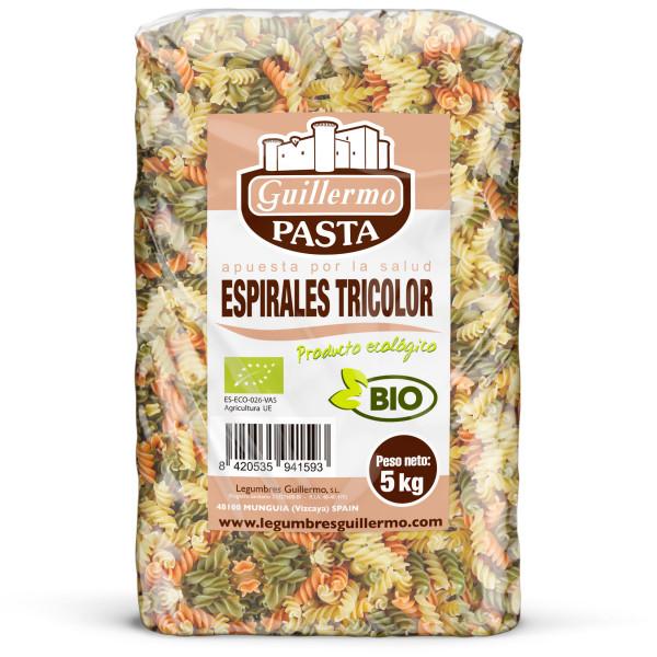 Guillermo Horeca Espirales Tricolores Ecológicos BIO Granel 5kg