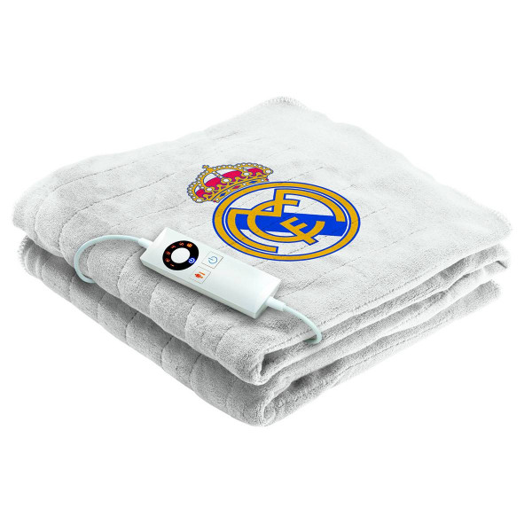 Imetec Real Madrid - Manta eléctrica térmica para sofá