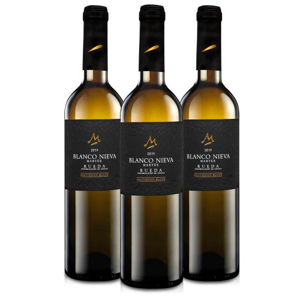 Martúe Blanco Nieva Sauvignon Blanc Vino Blanco D.O. Rueda - 3 Botellas x 750 m
