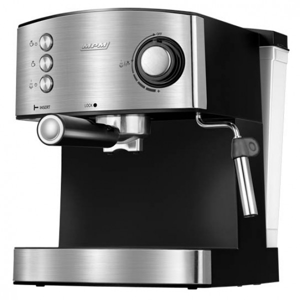 MPM MKW-06M Cafetera express 20 bares, para realizar café espresso y cappuccino