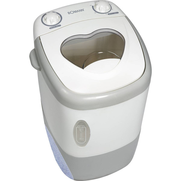 Bomann MWA 9485 - Mini lavadora portátil, 1,5 kg, ideal para camping
