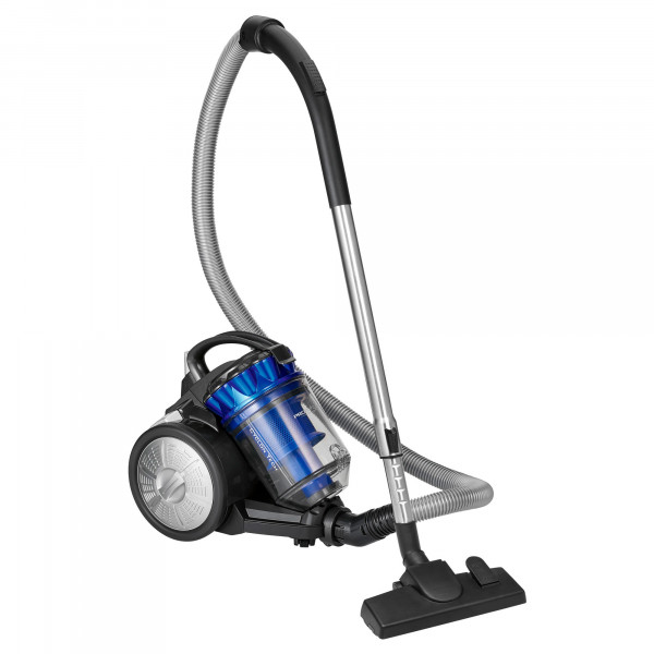 Proficare BS 3040 Aspiradora Trineo Ciclónico sin Bolsa, Filtro HEPA, Cepillo Turbo, 700W, Azul