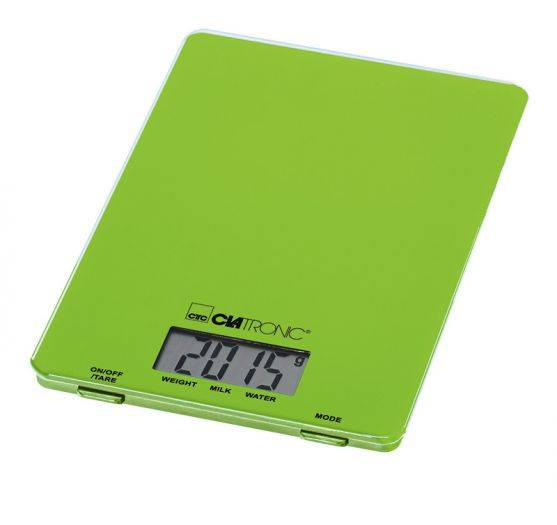 Clatronic Balanza Digital KW 3626 verde