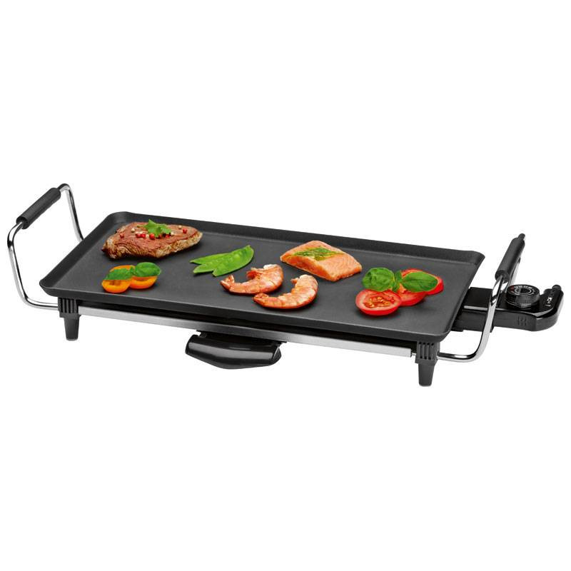 Clatronic tyg 3608 plancha de asar termostato regulable for Plancha cocina media markt