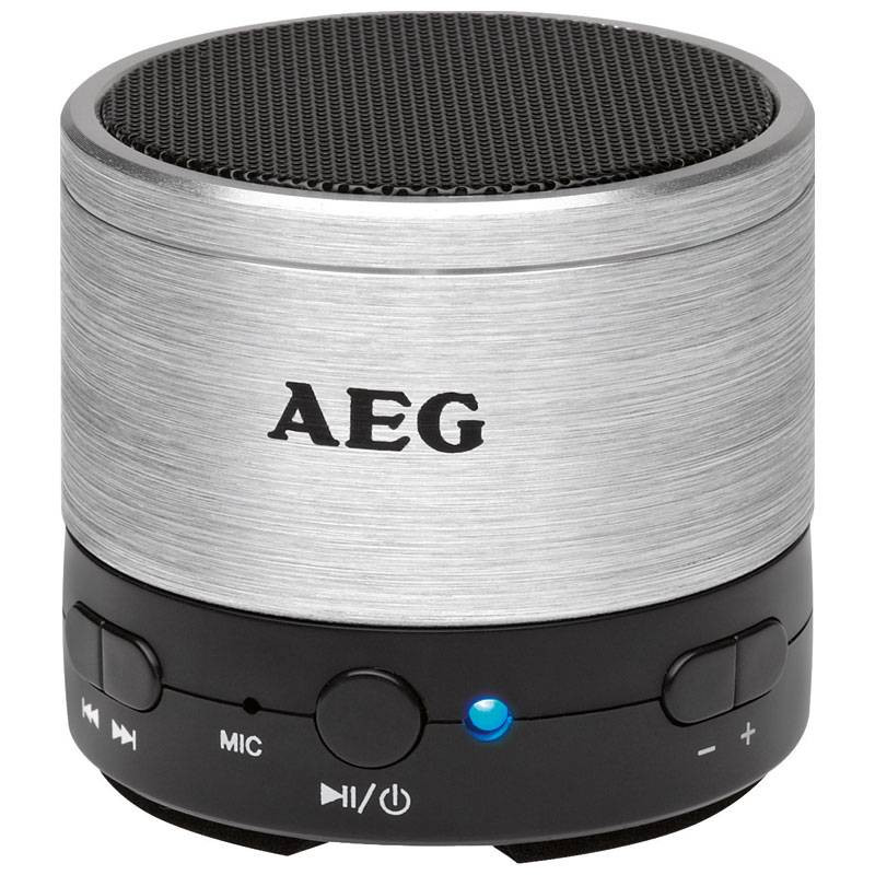 AEG Altavoz bluetooth BSS 4826 Plata