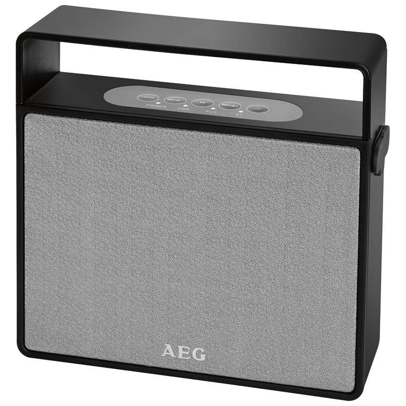 AEG Altavoz bluetooth/MP3/USB BSS 4830 Negro