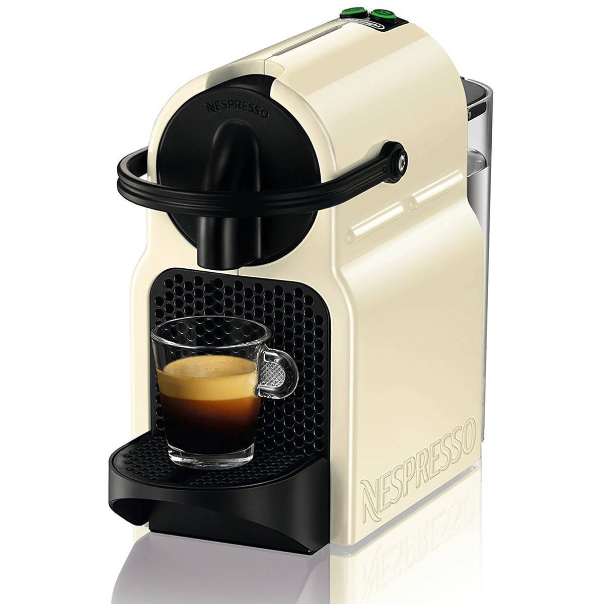 Delonghi - Cafetera Nespresso Inissia EN 80 CW 19 bares automática crema