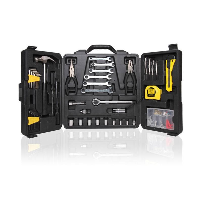 Caja de herramientas de 136 unidades