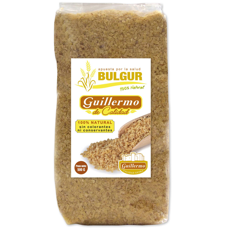 Guillermo Bulgur Turco Dorado especial tabbulé Superalimento 100% Natural 500gr