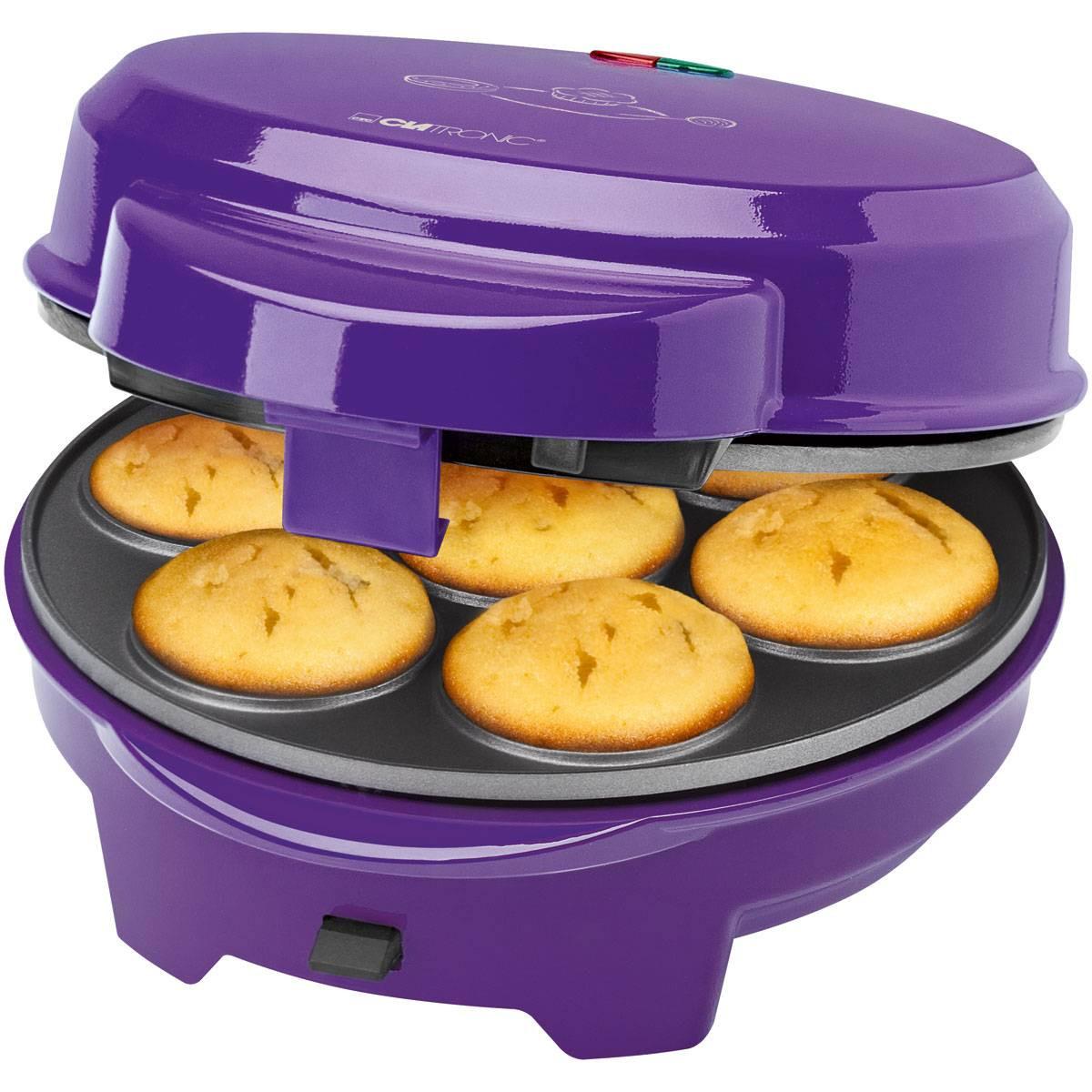 Clatronic Máquina de hacer Donuts Muffin y Pop Cacke DMC 3533