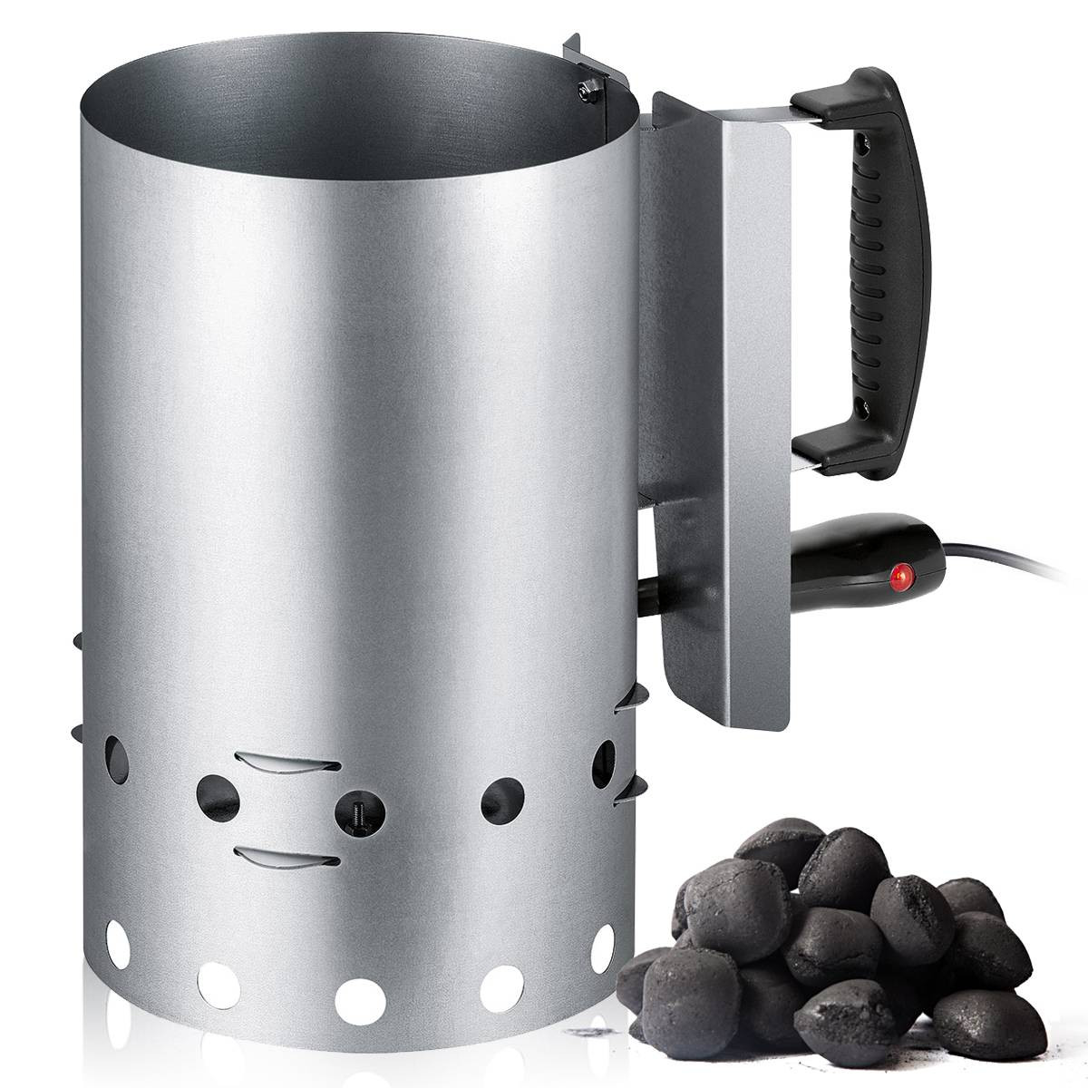 Encendedor eléctrico de barbacoa para carbón o briquetas