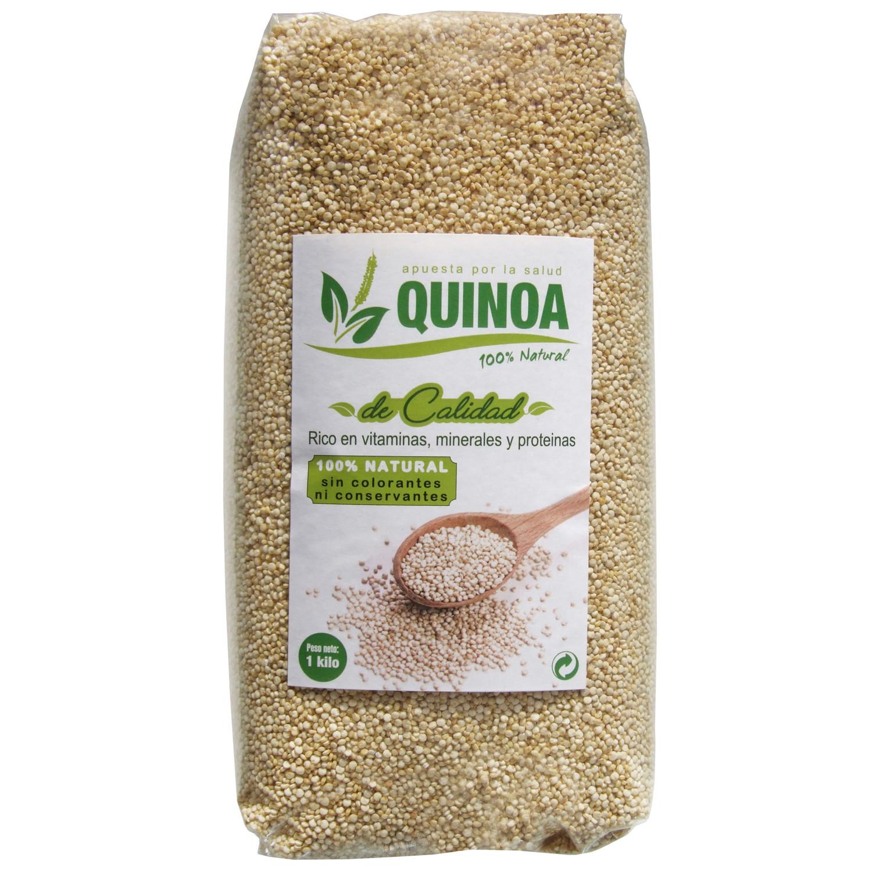 Guillermo Quinoa Blanca Superalimento 100% Natural 500gr sin conservantes ni colorantes