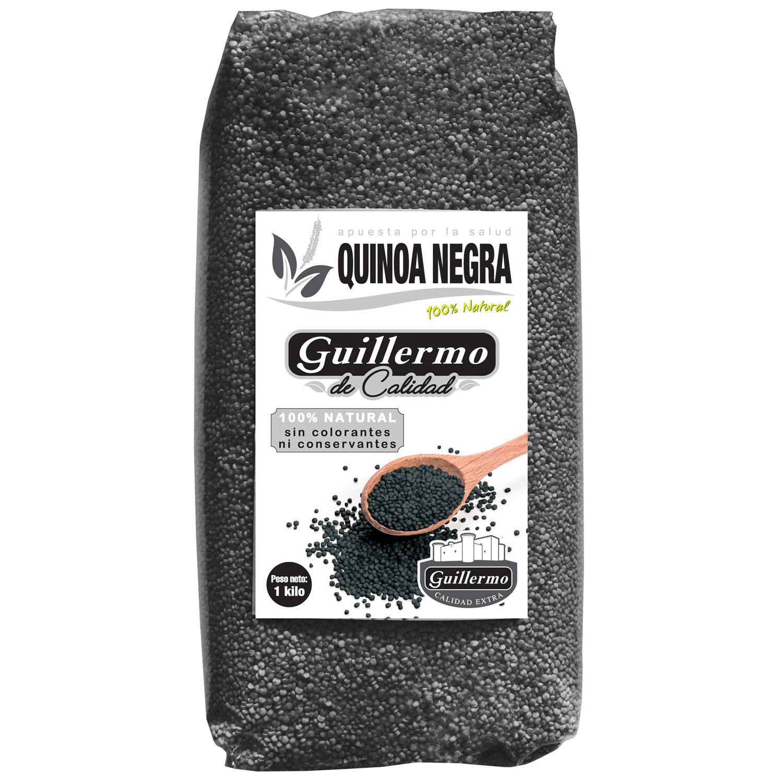 Guillermo Quinoa Negra Superalimento 100% Natural 500gr sin conservantes ni colorantes