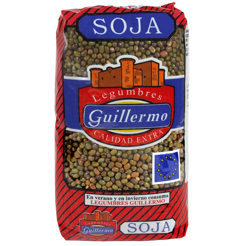 Guillermo Soja Verde Legumbres Calidad Extra 1Kg