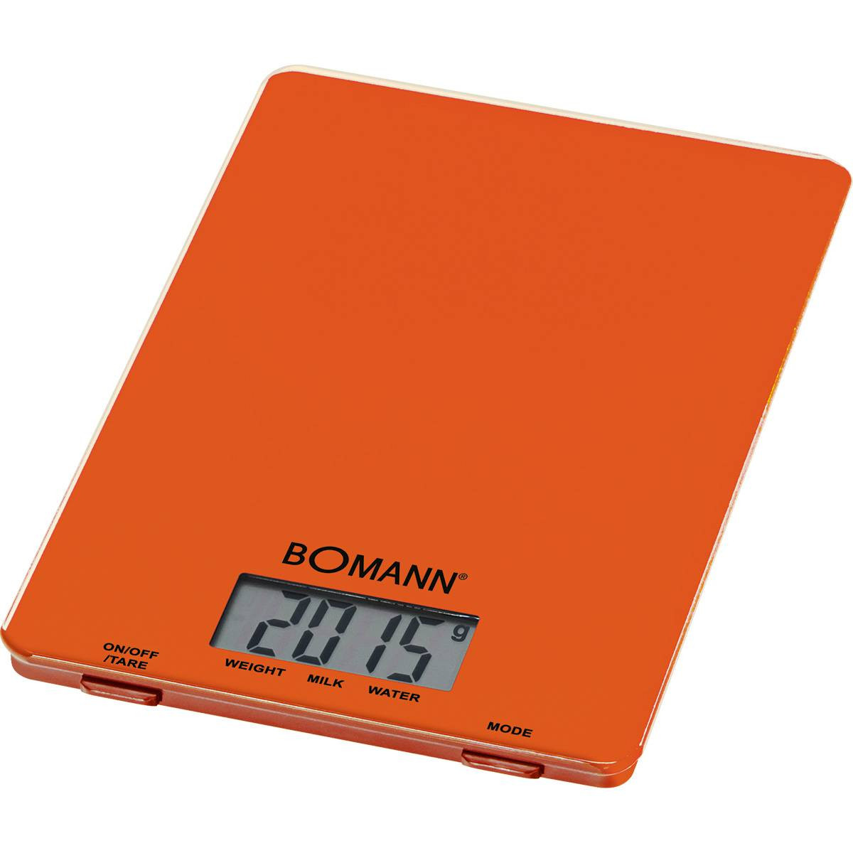 Bomann Balanza Digital KW 1515 naranja