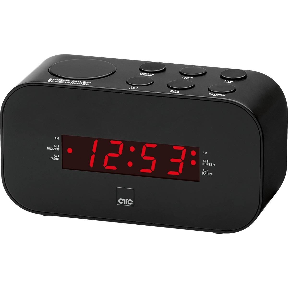 CTC Radio despertador MRC 7007 negro