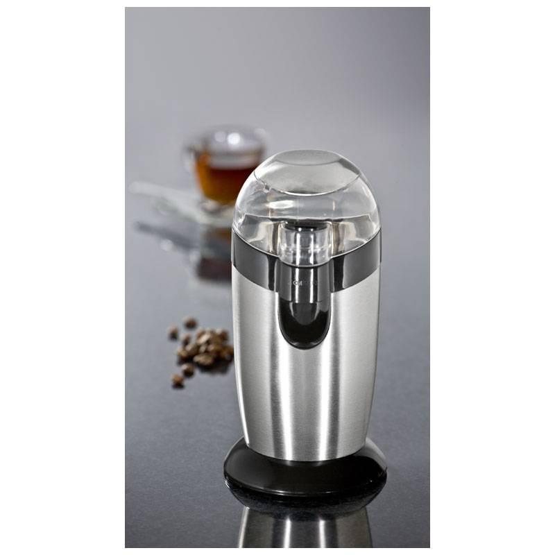 40 Grams Bomann KSW 446 Molinillo de caf/é el/éctrico 120 W Blanco y Plata