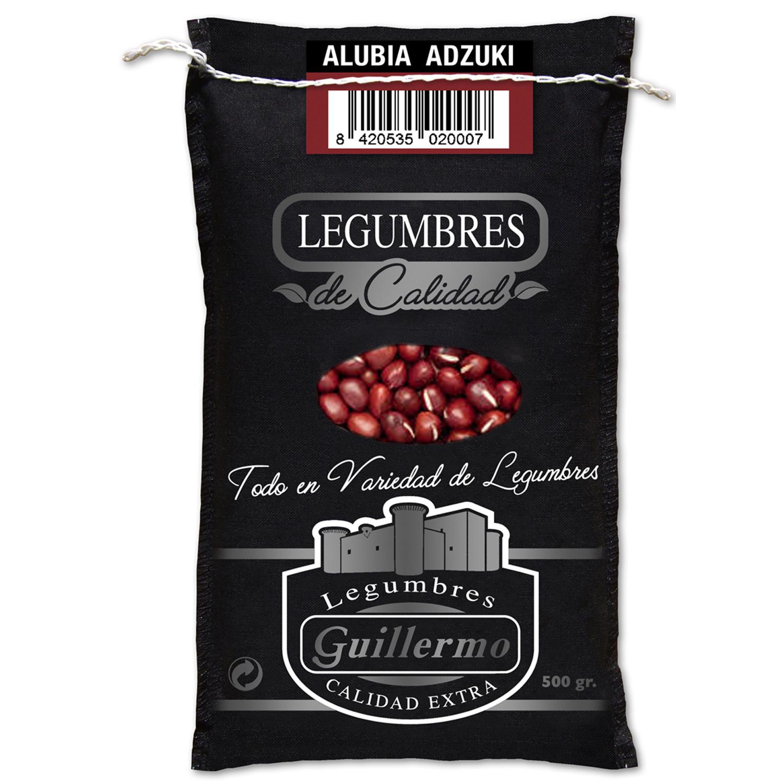 Guillermo Alubia Azuki Judía Gourmet Calidad Extra Saco 500gr