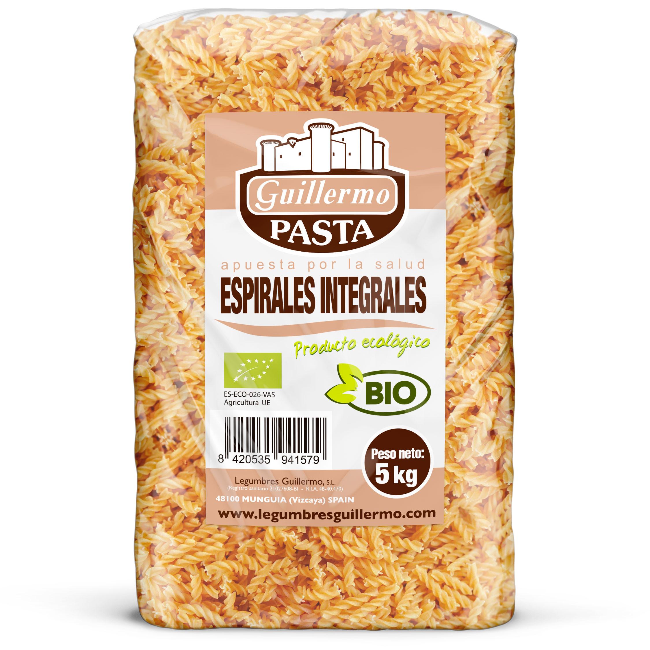 Guillermo Horeca Espirales Integrales Ecológicas BIO Granel 5kg