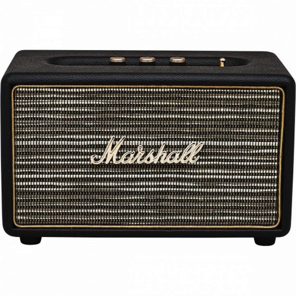 Marshall Acton - Altavoz retro con bluetooth potencia 41W Bass Reflex negro